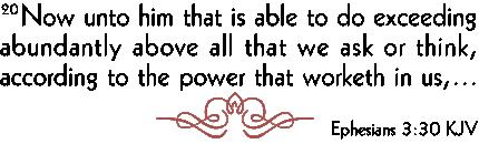 Ephesians 3-30
